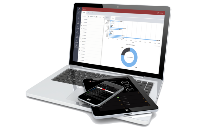 Let TruxTrax track your mileage, hours of service