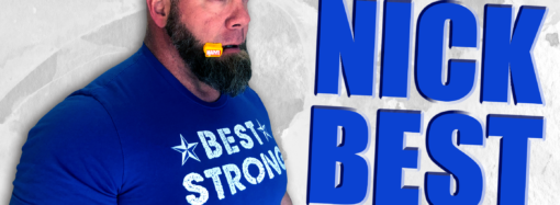 American professional strongman competitor and world champion powerlifter feels foolish for not using mouthware technology sooner